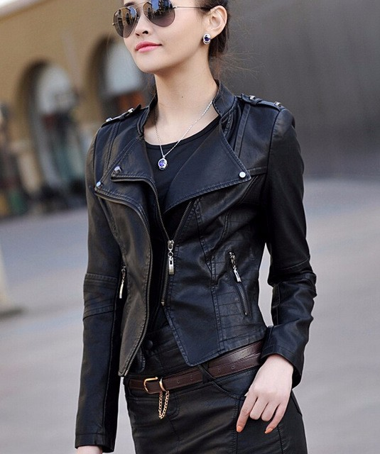 Leather Jackets Girls - Cairoamani.com