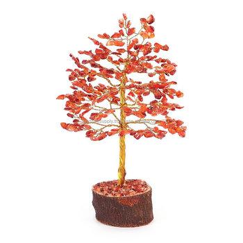 Red Carnelian Crystal Tree ( Orange ) : Hanging Tree Crystals : Decorative  Wire Crystal Tree - Buy Decorative Crystal Trees : Crystal Palm Trees : :