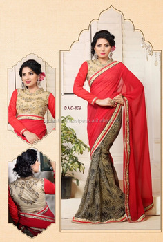 d038e908ae heavy sarees for wedding with price / stone work sarees online shopping /  Online heavy sarees