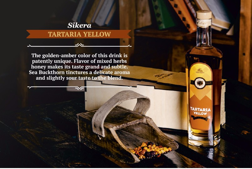 Sikera TARTARIA YELLOW Craft Whisky