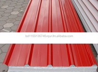 Corrogated profile roofing sheet for steel building Construction