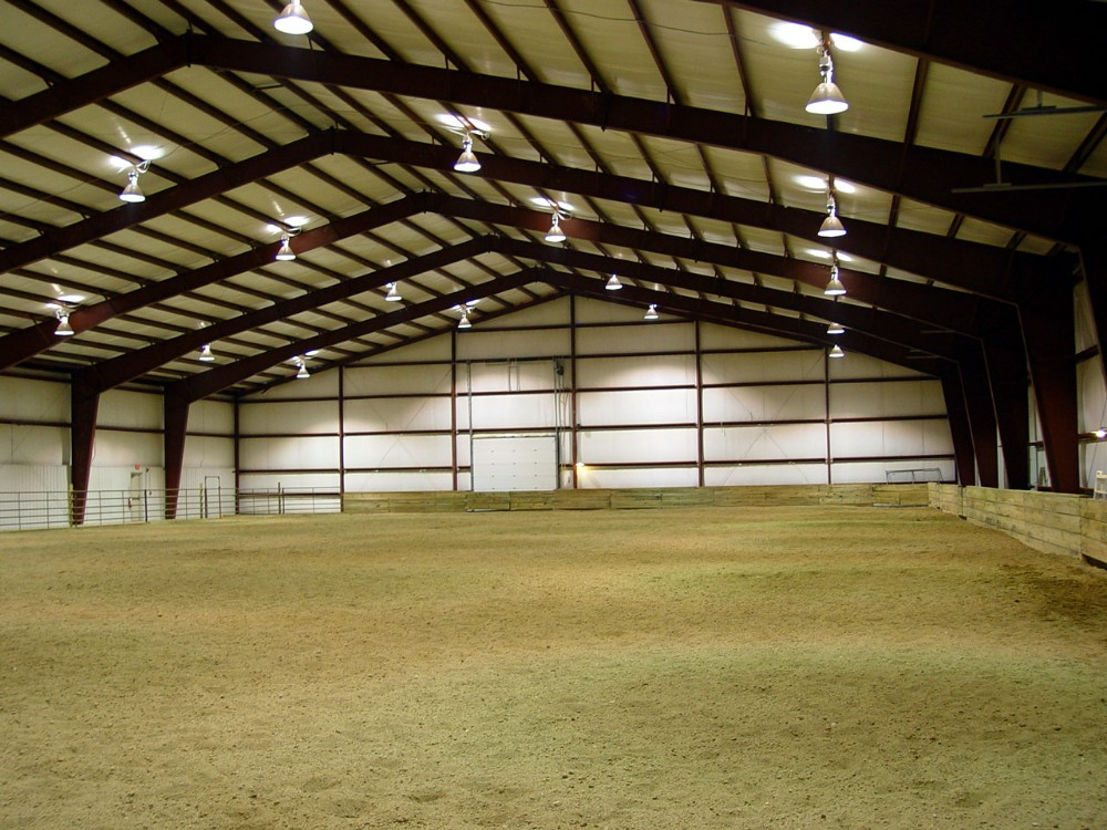 steel structure horse arena