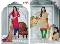 Woman Clothing / Wholesale Indian Crepe Dress Materials