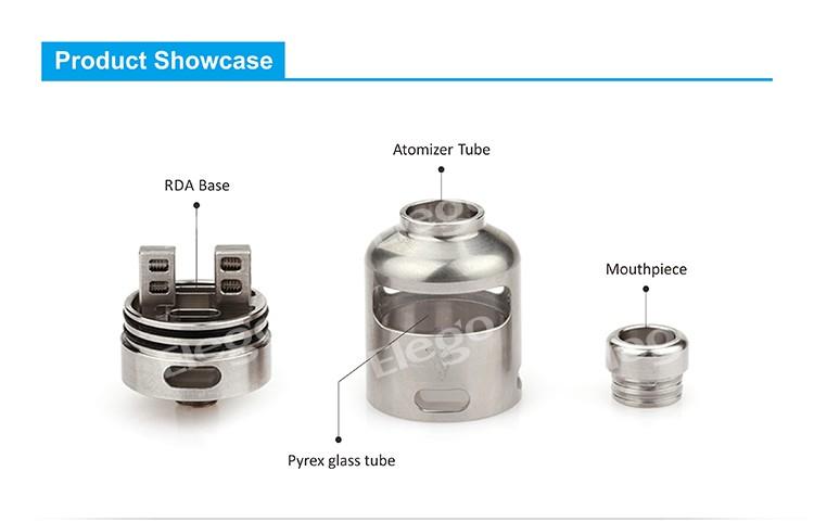 E Cig Assembly : Vapor wholesale vaporesso nalu rda atomizer dual coils