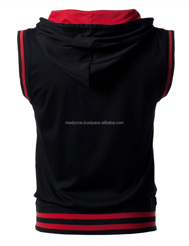Wholesale sleeveless hoodie