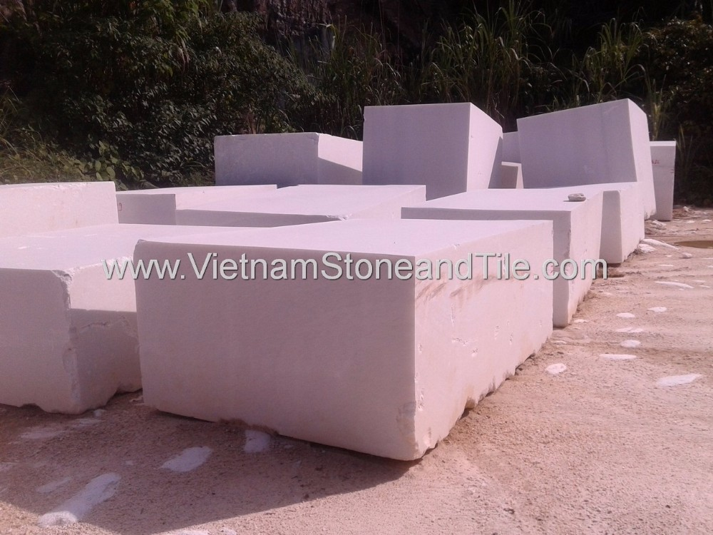 Large Marble Stone Block, Vietnam Rough White Marble Blocks, Marble Stone Blocks