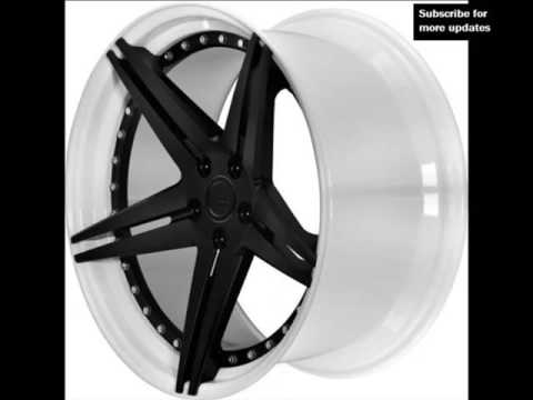 White Alloy Wheels | Picture Collection Of Modern Rims And Tires For Cars & Vans