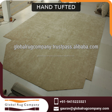 Hand Tufted Wool and Viscose Rug Or Carpet Suitable For High End Hotels