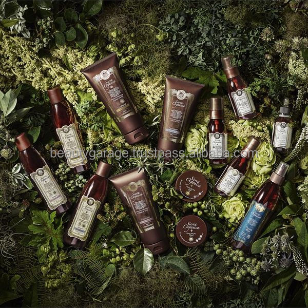 Safe organic hair care products with natural essential oil , made in Italy