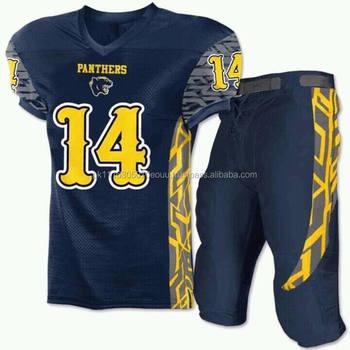 0e6d0dbb5 Top Custom Sublimada Poliéster Uniformes De Futebol Americano  Universitário Sublimation futebol americano jerseys SAFU