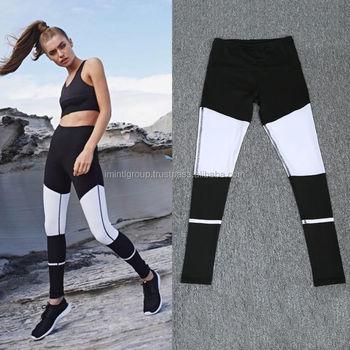 0dae505ac581 Sialkot factory maker Women Gym Exercise Sports Yoga Pants Ladies Fitness  Leggings Running Trousers IM.