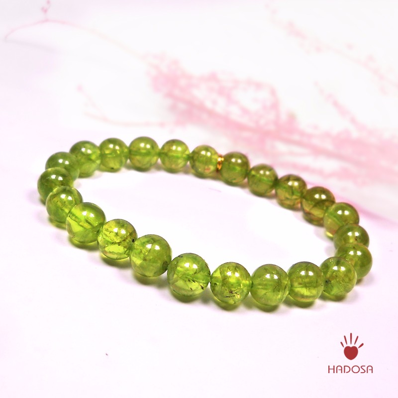 Peridot Stone Bracelets Bracelet Grade Aa