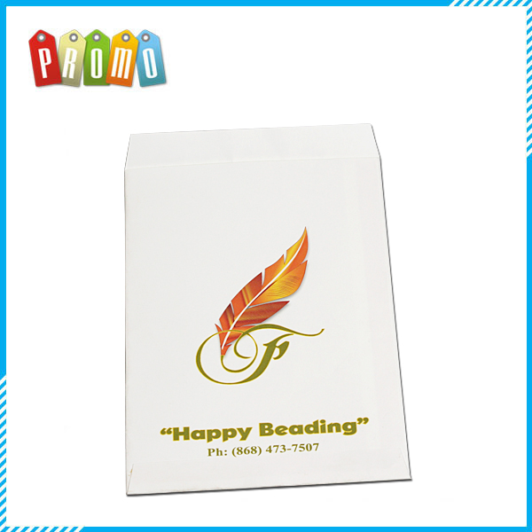 PROMO custom white paper kraft bag