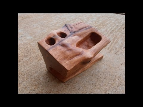 Making a Wooden Cell Phone Holder/Pencil Holder