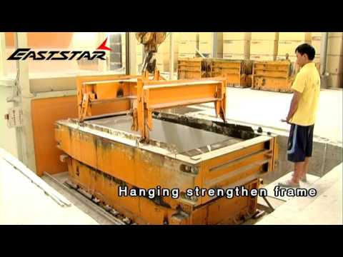 Artificial marble manufacturing/ process artificial quartz stone producing machine/cuarzo artificial