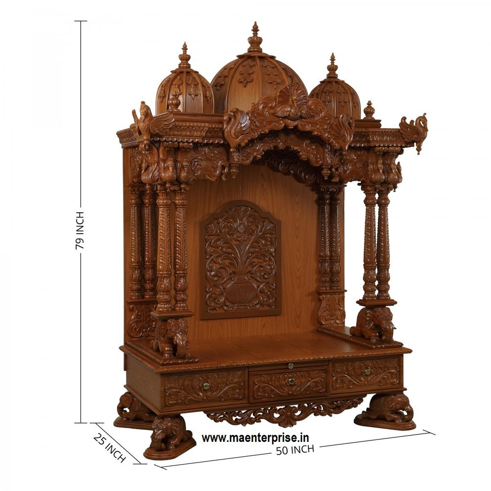 Indian Pooja Mandir Design In Home Buy Pooja Mandir Mandir Design In Home Indian Mandir For