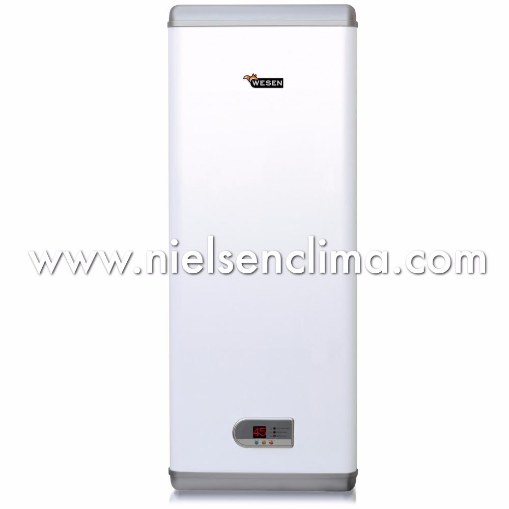 Calentador de agua el ctrico wesen inox de 100l - Calentadores electricos cuadrados ...