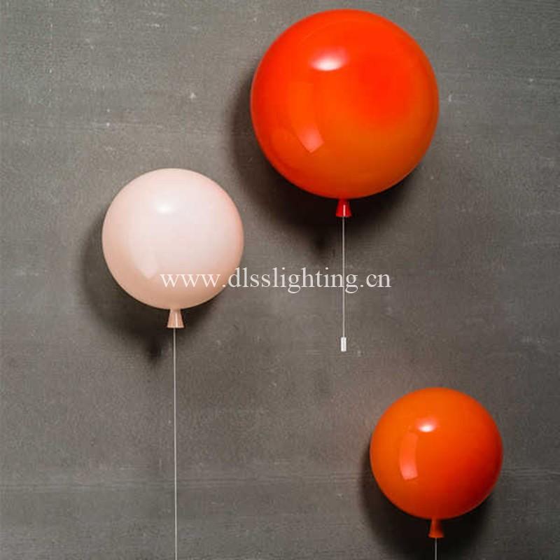 Creativo palloncino colorato luce decorativa camera da letto ...