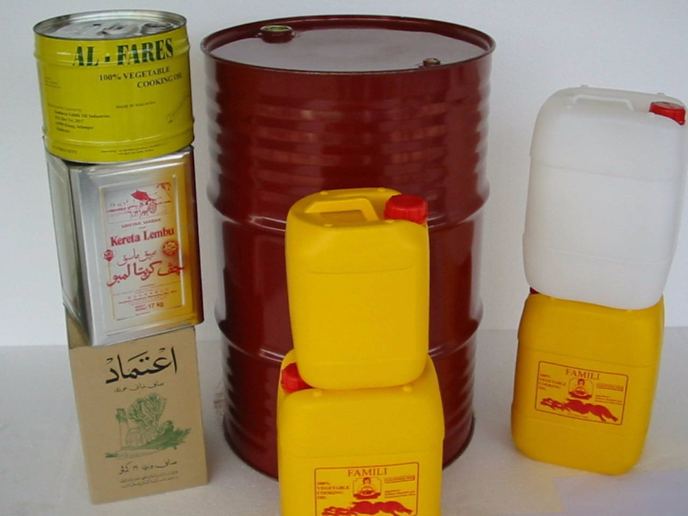 Factory Price Rbd Palm Olein 18l Tin Can