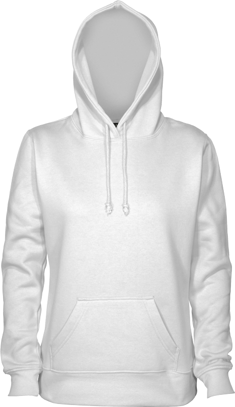 Plain White Pullover Hoodie