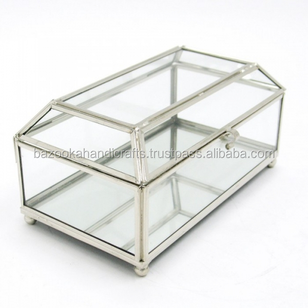 Glass Boxes,Silver Storage Box,Jewellery Box   Buy Storage Box.,Decorative  Storage Boxes,Glass Box Product On Alibaba.com