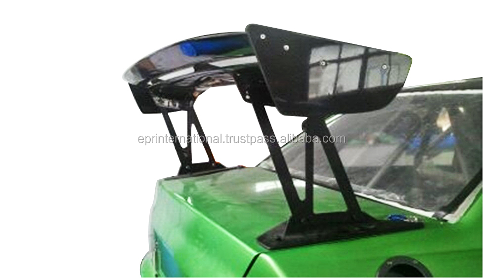 For Mitsubishi Evolution EVO 7 8 9 VLTX Type 5 Cyber EVO GT Wing 1600mm (Street Version Low Stand 290mm)