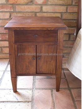 Superieur Colonial Style Bedside Table