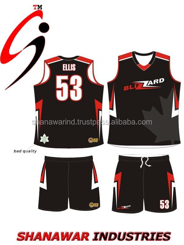 2015 Reversible Hot Sale Sublimation Basketball Uniform