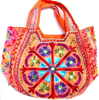 Fire Fly Lady Canvas Shoulder Bag online shopping Embroidery Suzani Handbag-Women  Tote Shoulder Bag 1b79ee998