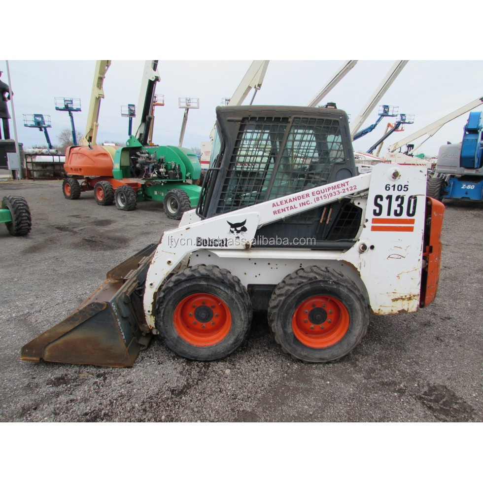 chinese used bobcat s130 skid steer loader parts for sale