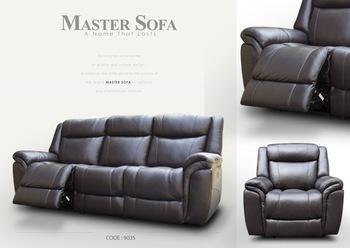 Leder Reclining Sofa #9035 - Buy Sofa,Leder Sofa,Sessel Product on  Alibaba.com