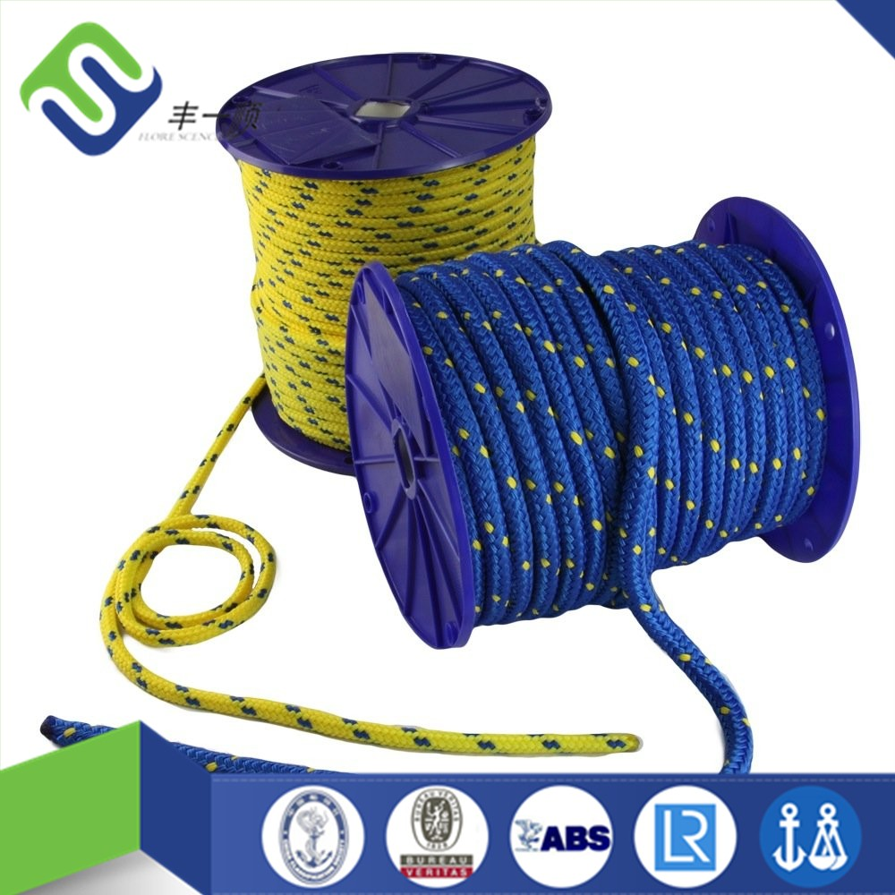 how to cut a braided polypropylene rope