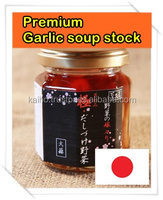 GARLIC premium Japanese food high quality high grade dashi soup soy sauce bottle fantastic