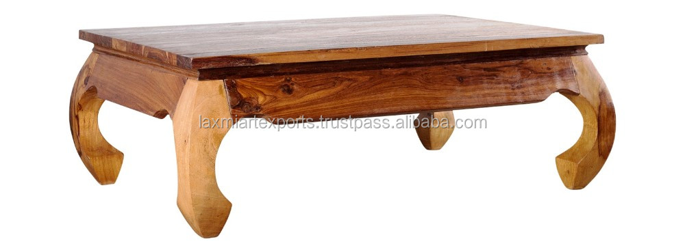 Square Coffee Table Opium With Curved Leg Modern Product On Alibaba
