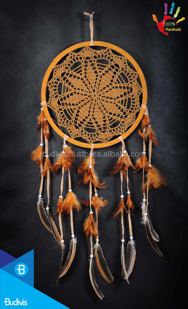 Top Dolly Bali Dream Catcher Colgando de Ganchillo