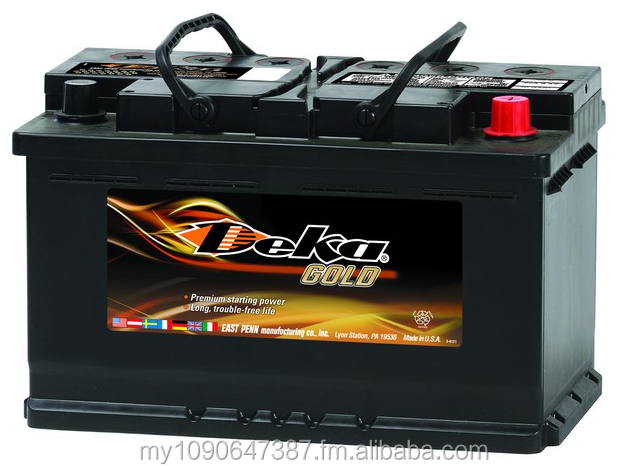 Where can you find out the locations of Deka Battery distributors?