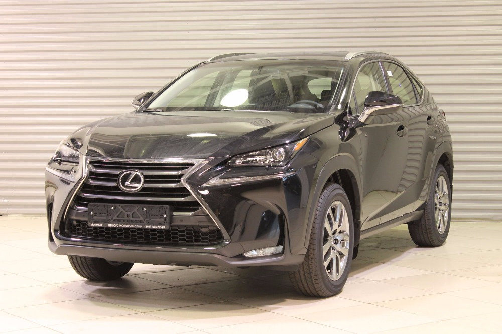 Lexus NX 200 AWD 2016 Luxury 2.0L/150 CVT 4WD Black metallic/ black Leather