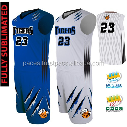 custom team uniforms for youth and adult basketball teams, leagues, and schools