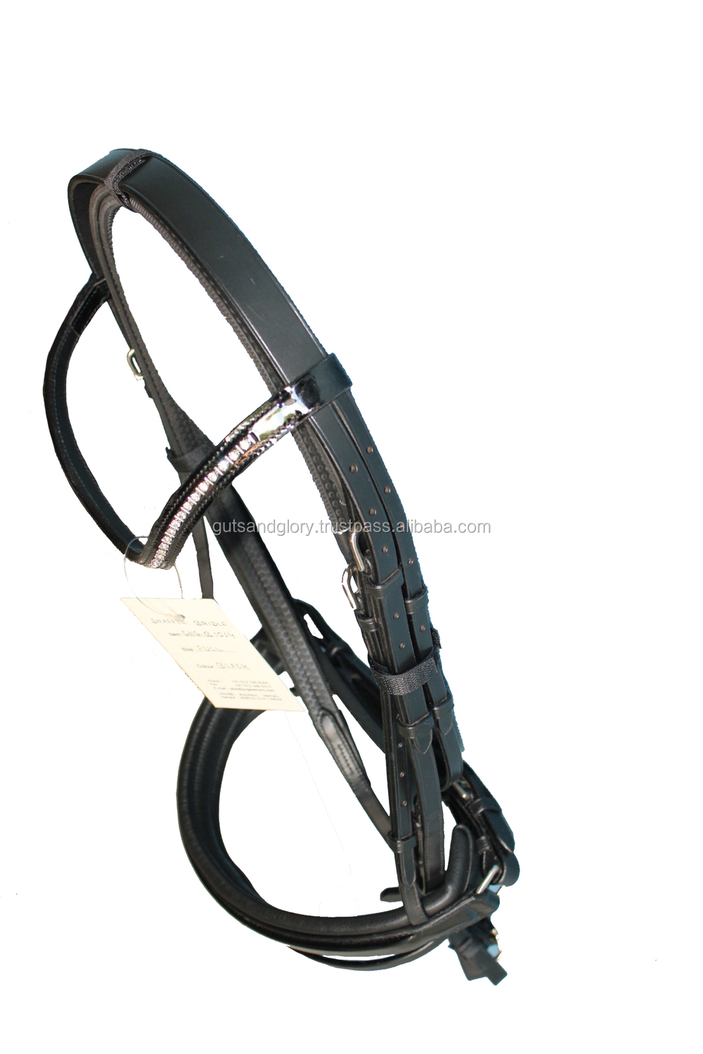 Snaffle Bridle Patent Leather