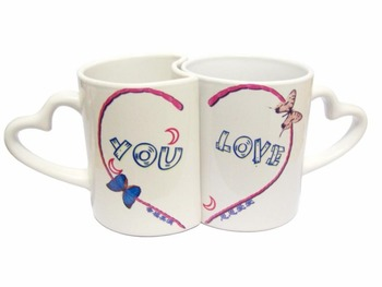 High Quality 11oz Sublimation Coating Valentine Mug Sublimation Ceramic Cup