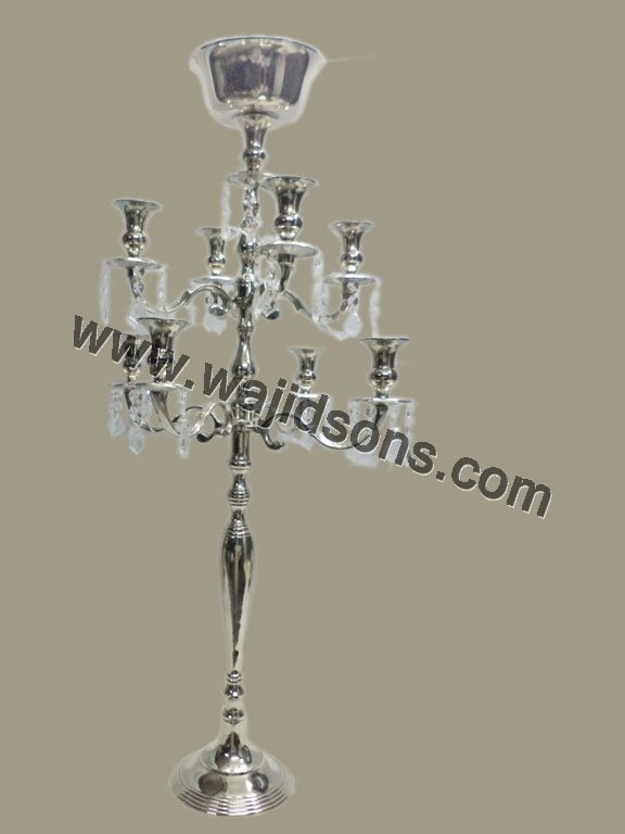 Tall Crystal Candelabra and Cheap Wedding Centre Pieces