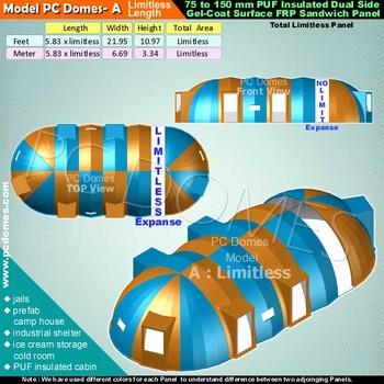 domes usesice cream storage cold room jails prefab c& house PUF  sc 1 st  Alibaba & Domes UsesIce Cream Storage Cold RoomJailsPrefab Camp HousePuf ...