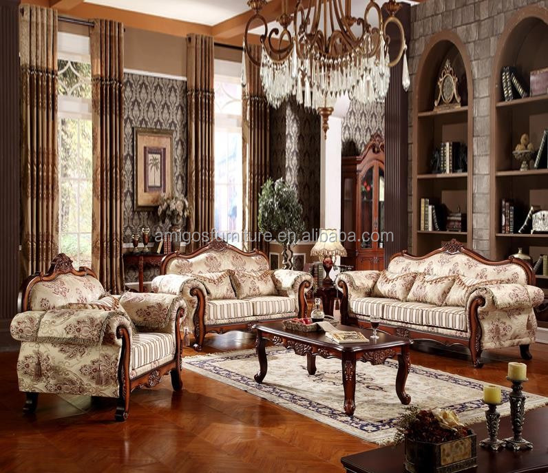 New Arrival Luxury European Victorian Wooden Living Room Sofa,French Living  Room Set - Buy Victorian Living Room Sofa,European Living Room ...