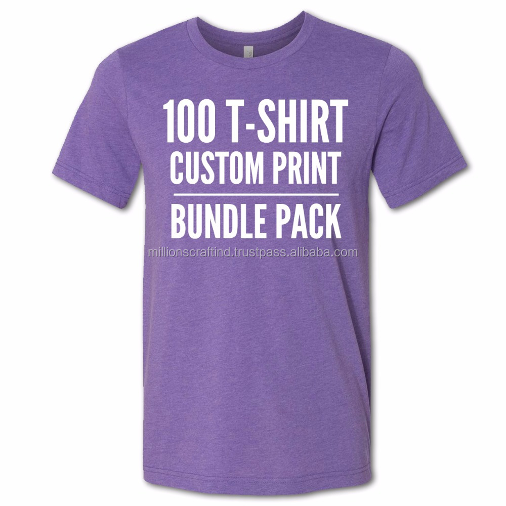 Quality Custom Blank T Shirtgym Tshirtsports T Shirt Color Purpul