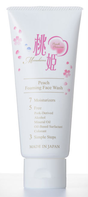 Momohime Peach Face Foaming Wash Halal Certified 100g - Buy Face  Wash,Cleanser Product on Alibaba com