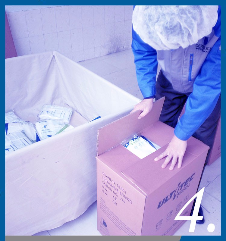 microporous laminated fabric taped seam Type 4/5/6 Nonwoven Coverall CE for French new regulation