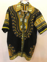 Dashiki Print Men's Shirt / African Dress Men's Shirt