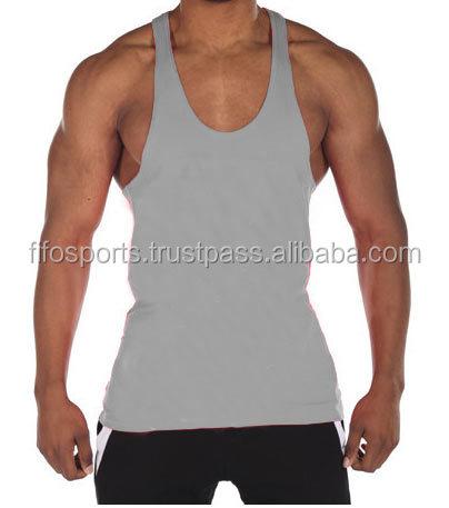 7a4cb59129ad7 2018 bodybuilding singlet custom design mens ribbed vest gym stringer