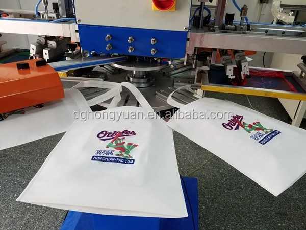 Automatic 3color 8stations t shirt screen printing machine for Screen printing machine for t shirts for sale
