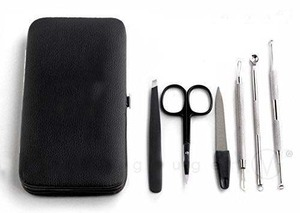 Blackheads and Pimples Extractors with Tweezers & Manicure Set